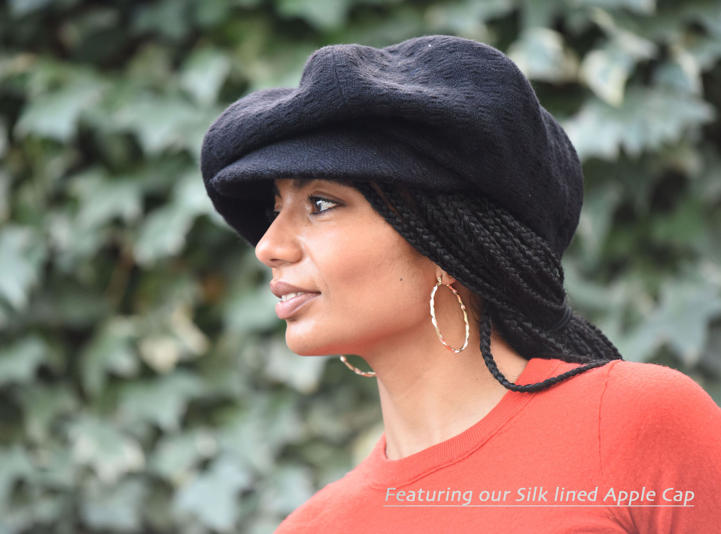 Pretty AnntoiNets Silk Lined Hat