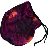 Silk Sleep Cap - Painted Magenta