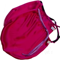 Silk Sleep Cap - Fuchsia