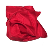 Silk Scarf - Ruby red