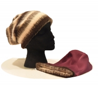 Childs Beanie - Angora Wool & Silk