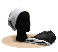 Childs Beanie -Cotton & Silk - Dove