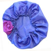 Habutai Silk Bonnet - French Blew