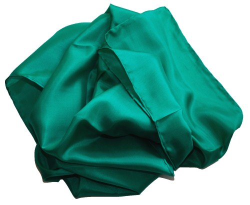 Silk Scarf - Extra large - Emerald
